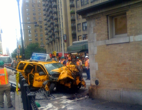 yellow cab accident oct. 2009