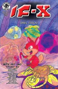 IF-X Vol. 2 Issue 6 Front Cover by Patrica Arnold