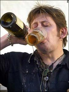 Shane McGowan formerly of The Pogues