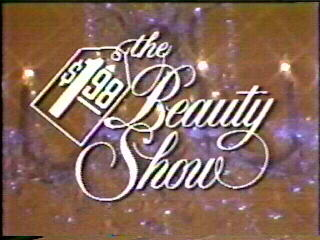 The $1.98 Beauty Show logo. Only in the drugged included 1970s could such a show exist.