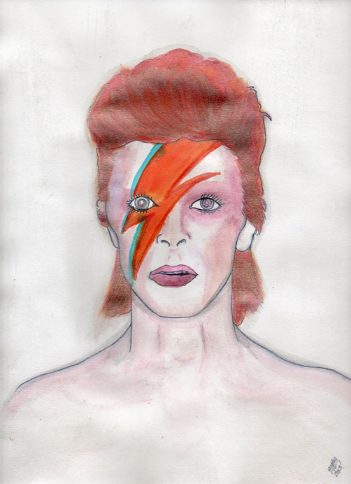 david bowie aladdin sane era - photo #1