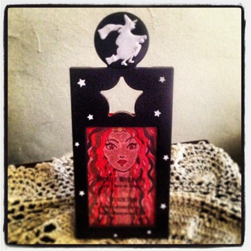 Another photo frame. Witch theme. Photo by Michele Witchipoo.