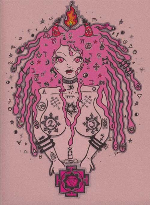 Chaos Mama by Michele Witchipoo back in early 2008.