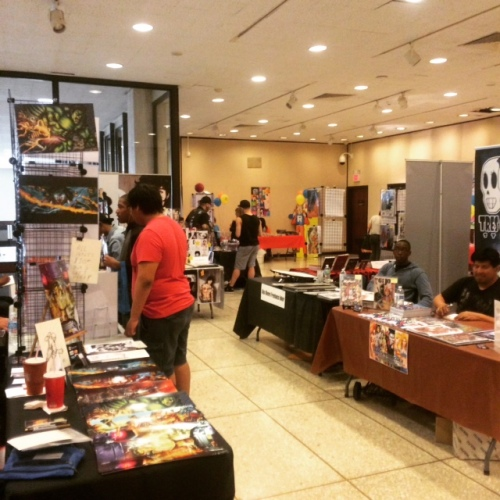 White Plains Comic Con 2015 towards the end of the show. Photo by Michele Witchipoo.