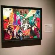 Sigil artwork by Breyer/Genesis P-Orridge at the Rubin Museum.