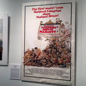 Artist Rick Meyerowitz known for his work with National Lampoon. Gallery inside MoCCA Fest 2016.