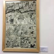 Robert Crumb, Victor Moscoso, Robert Williams, S.Clay Wilson, Spain, Gilbert Shelton, and Paul Mavrides. Mammy Jama Zap # 6 1973. Zap Comics retrospective at The Society of Illustrators. April 2016.