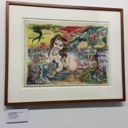 Artist S.Clay Wilson Zap #14. Zap Comics retrospective inside The Society of Illustrators. April 2016.
