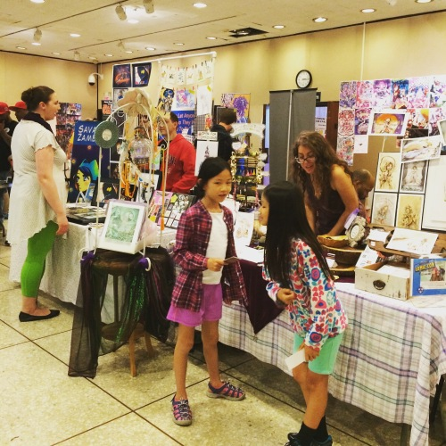Main floor at the second annual White Plains Comic Con, June 4th 2016.