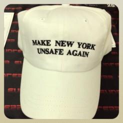 Hat sold at the Bushwick Art Book & Zine Fair 2016. July 2016.