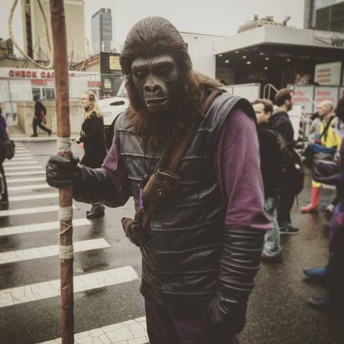 Classic Planet of The Apes. NYCC cosplay. Photo by Michele Witchipoo. Oct. 2016