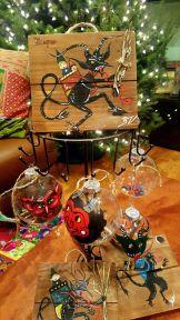Krampus decor by Whimsical Art Shop