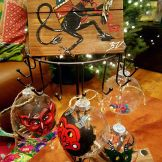 Krampus decor by Whimsical Art Shop
