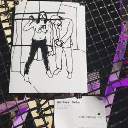 """Art by Athea Blem. """"Kill Putin"""" as seen at Knockdown Center for the Nasty Women art exhibition."""