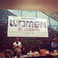 From Women In Comics comic con March 25th 2017.
