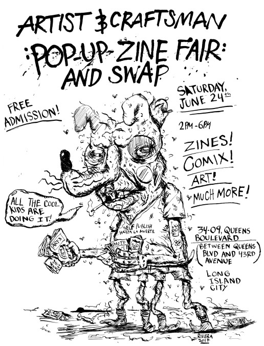 Zine Fair Flyer