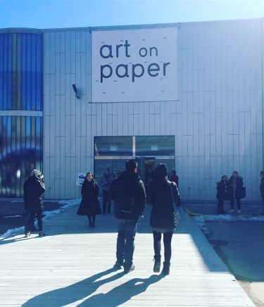 Art On Paper 2018. Photo by Michele Witchipoo