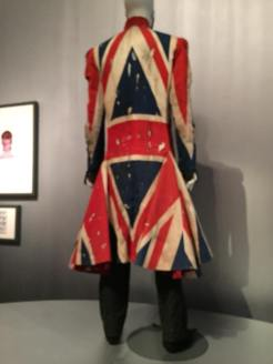 Inside the Brooklyn Musuem for the Bowie Is exhibit. Photo taken byNatasha Michalina, July 2018.