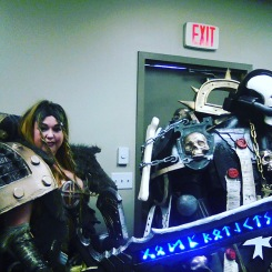 Warhammer cosplay. East Coast Comic Con 2018.