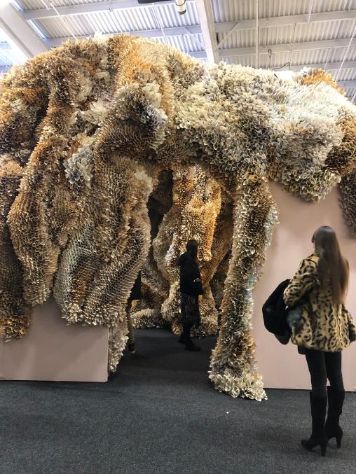 samuelle green art installation, art on paper 2019. Photo by Michele Witchipoo