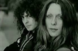 Marc Bolan and June Child